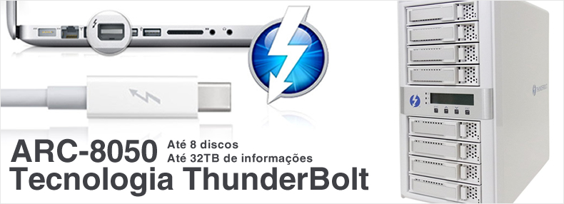Areca - ARC-8050 - Storage ThunderBolt