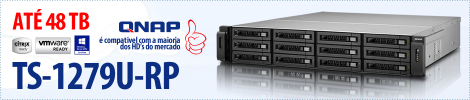 QNAP - Storage NAS - TS-1279U-RP