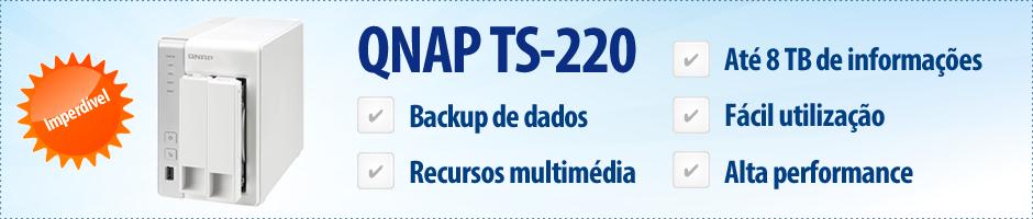 QNAP - Storage NAS - TS-220