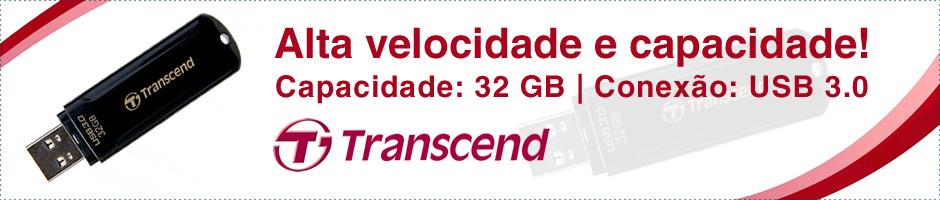 Transcend - Pen Drive 32GB e USB 3.0