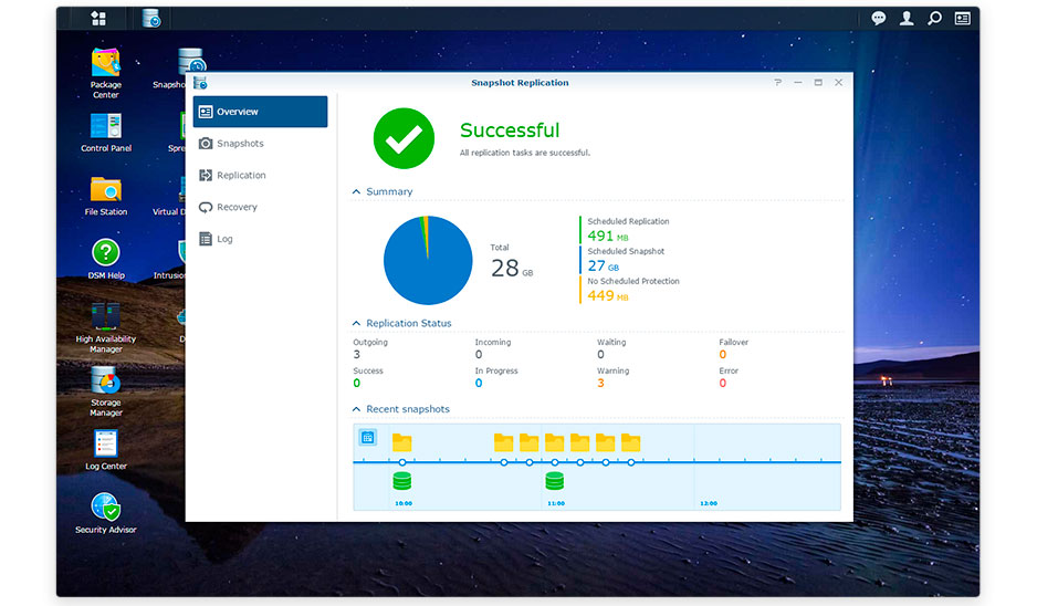 Data Protection and Recovery FS3017 Synology