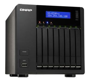 QNAP - SS-839-PRO