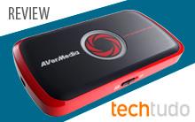 Review AVerMedia Live Gamer Portable pela TechTudo