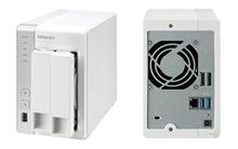 Storage NAS TS-220 permite entretenimento no uso doméstico e facilidades para as pequenas empresas