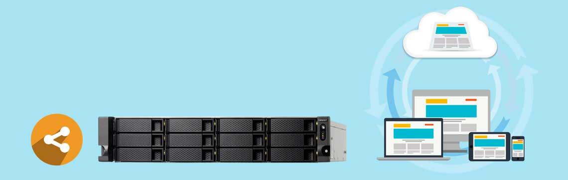 Storage NAS - Armazenamento e Compartilhamento de dados