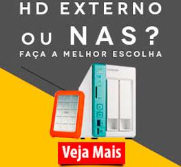 HD externo ou NAS?