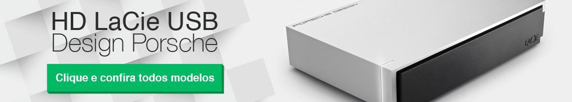 HD LaCie USB, Design Porsche