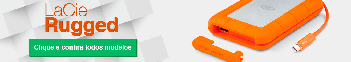Lacie Rugged, o Melhor HD externo portátil