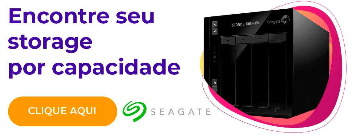 Encontre seu storage por capacidade - Seagate