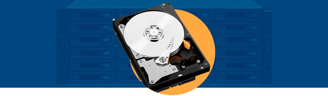 A alta latência dos hard disks