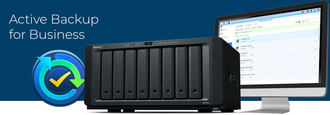 Active Backup for Business Synology, DS1819+ Synology