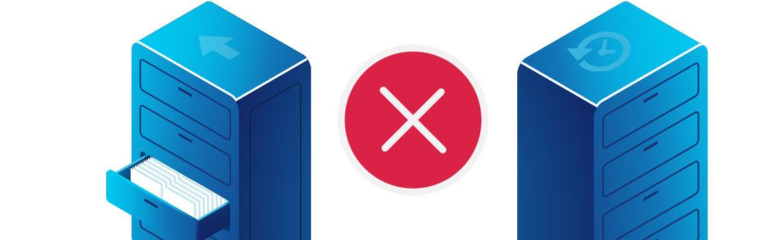 Arquivamento de dados x Backup, entenda a diferença