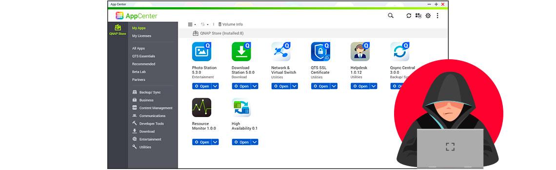 App Center, atualização de aplicativos