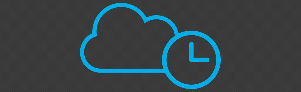 Backup em nuvem - tempo