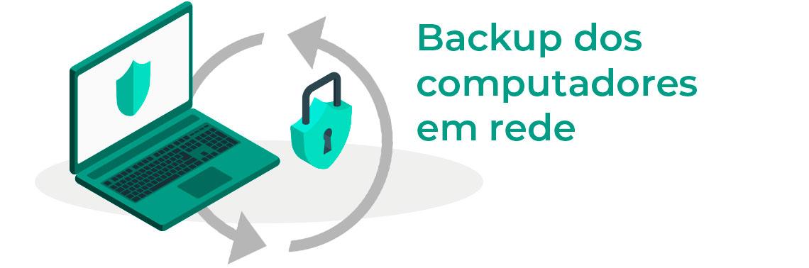 Backup de computadores em rede