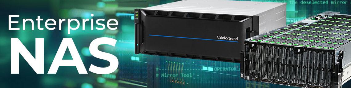Enterprise NAS, um sistema de armazenamento em rede corporativo