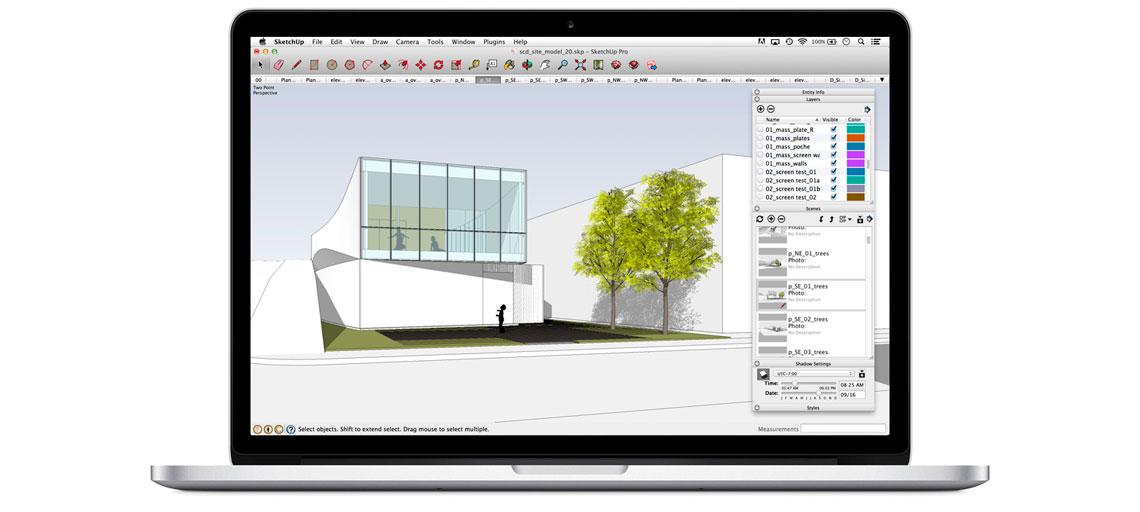 Como renderizar no SketchUp