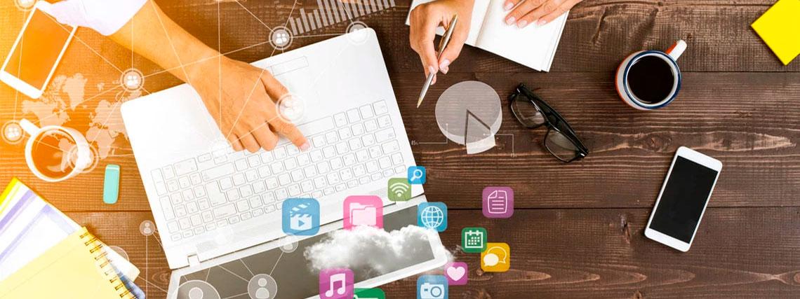 Compartilhando dados dentro da empresa
