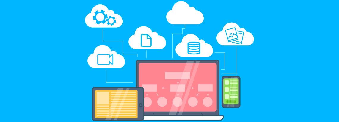 Compartilhar arquivos via nuvem