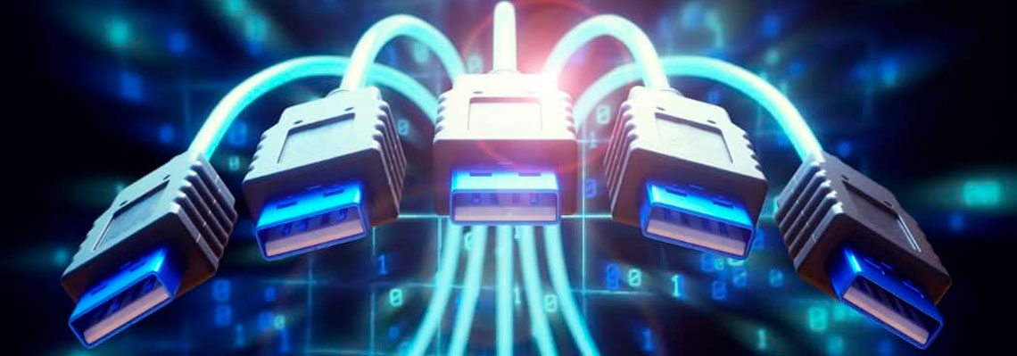 Conexões USB