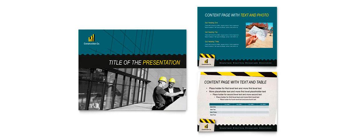Criar apresentação - Perfil comercial