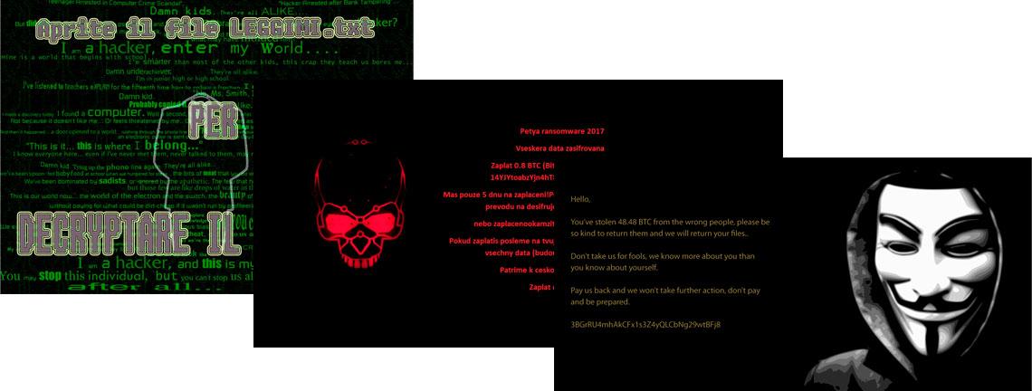 Tela do Ransomware - Crypt888