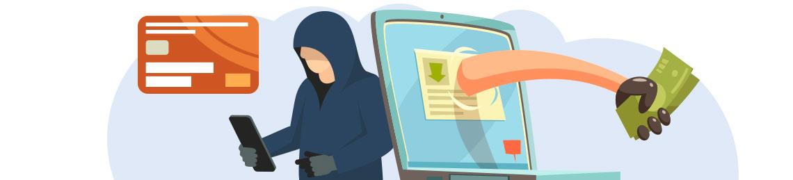 Imagem ilustrativa de uma mão saindo da tela do computador e pegando dinheiro, simbolizando o pagamento de resgate dos dados aos hackers de ransomware