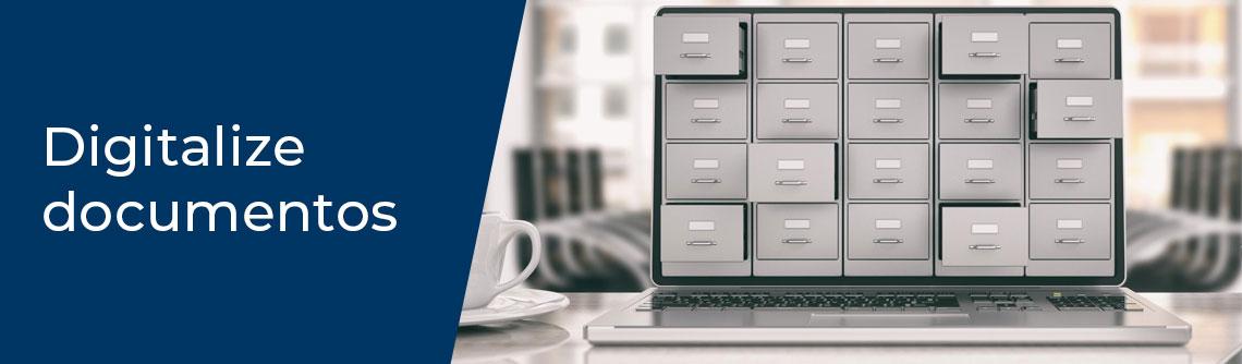 Digitalize documentos impressos