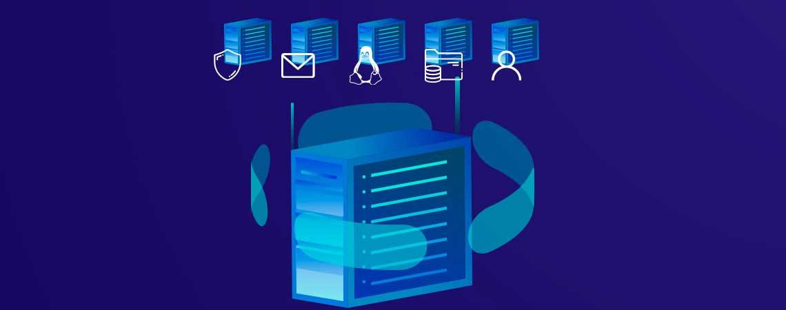 É possível distribuir recursos personalizados para cada VM