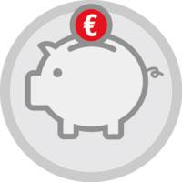 Economizar Dinheiro - Imagem de cofrinho