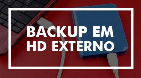 Fazer backup em HD externo é totalmente seguro?