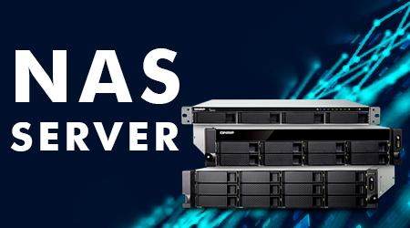 NAS server - sistema de armazenamento em rede seguro
