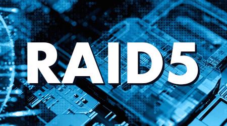RAID 5, com apenas três hard disks as informações estarão mais seguras