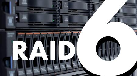 RAID 6, falha em até 2 discos do mesmo arranjo sem perder informações