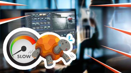 O processo de renderização de vídeo e imagem 3D está lento?