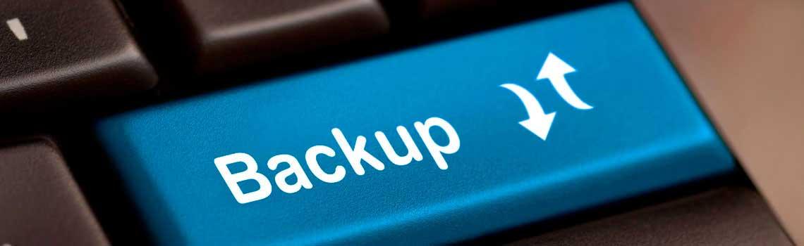 Fazer backup é simples