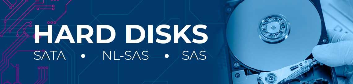 Quais são as diferenças entre hard disks SATA, NL-SAS e SAS
