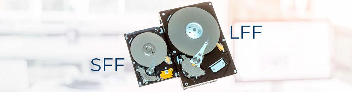 Hard disks SFF e LFF