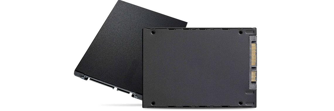 Memórias SSDs SATA
