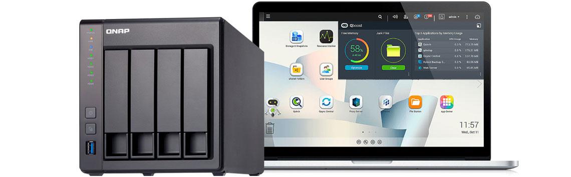 Qnap TS-451+ Storage NAS ambiente seguro para seus arquivos