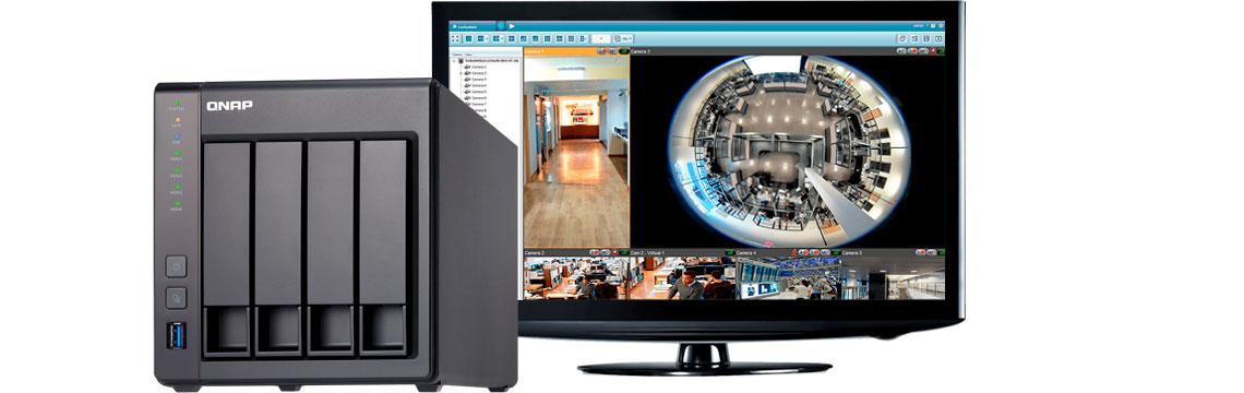 NVR Qnap, ambiente seguro para armazenar imagens de vigilância