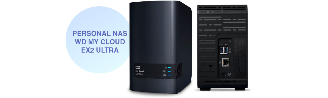 Personal NAS WD My Cloud EX2 Ultra