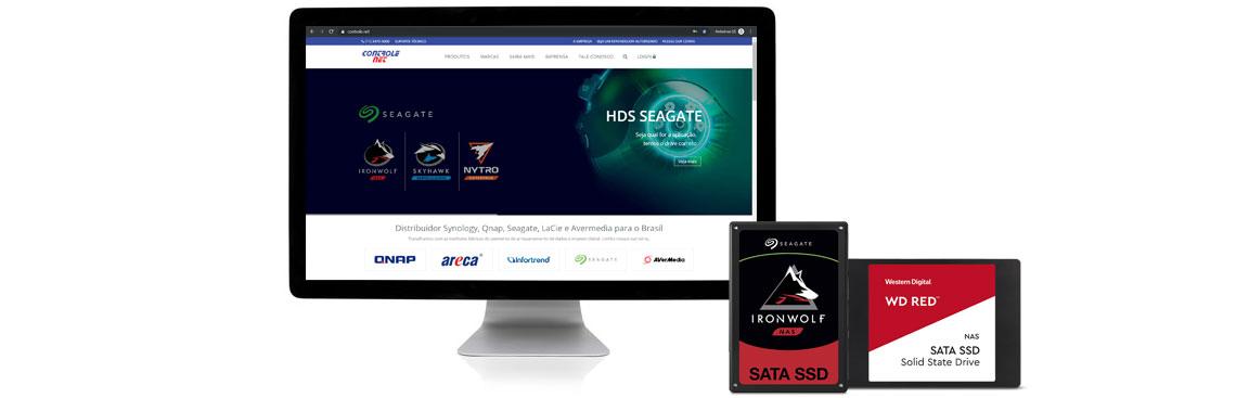 Controle Net é especialista em armazenamento de dados e possuímos os melhores SSDs para NAS do mercado