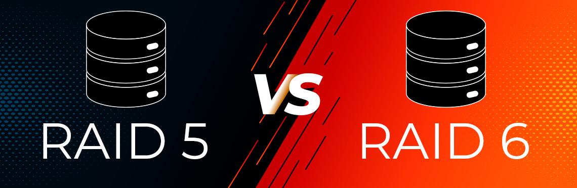 RAID 5 vs RAID 6, segurança das informações