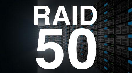 RAID 50 ou RAID 5+0, seis ou mais discos trabalhando juntos