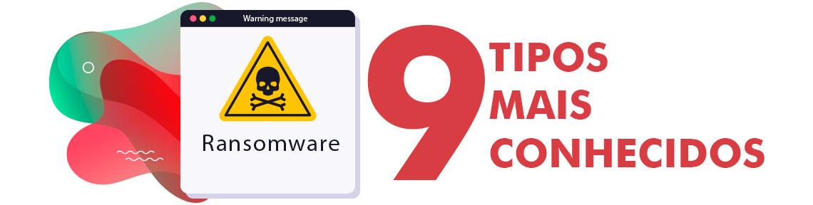 Imagem de alerta de Ransomware e 9 tipos de ransomware mais conhecidos