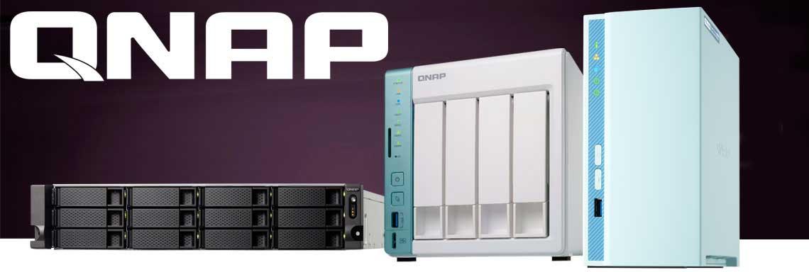 Qnap - NAS Qnap modelos de rack e desktop TS-1263XU-RP, TS-231P e TVS-451A