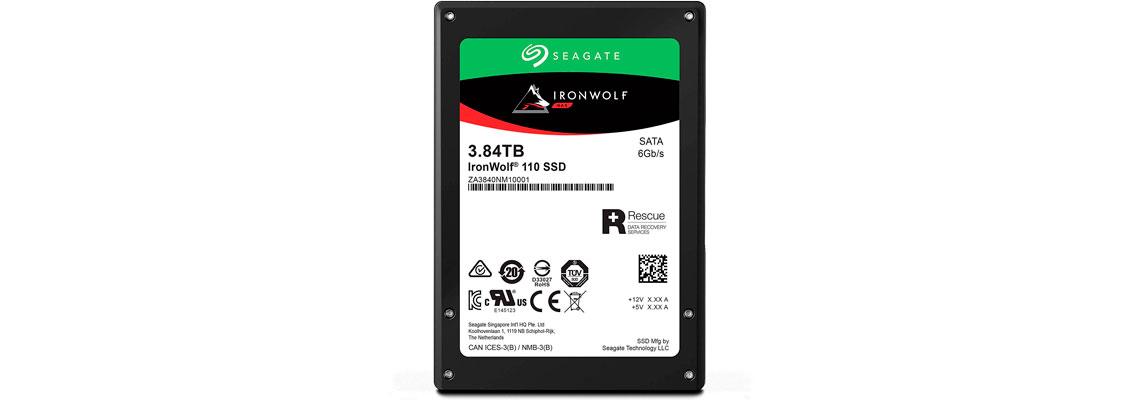 SSD Seagate IronWolf 110 3,84TB