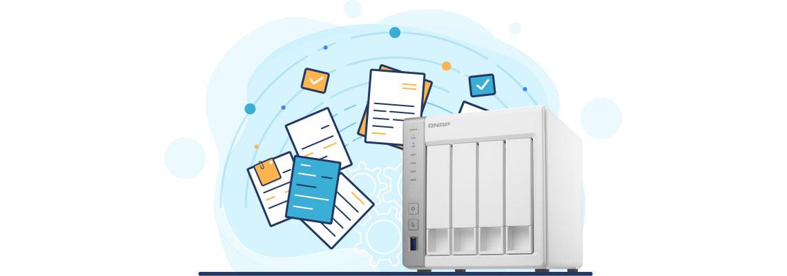 Servidor de arquivos, storage NAS Qnap TS-431P