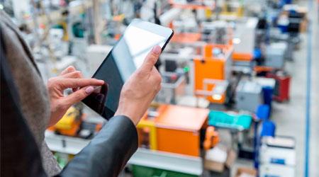 Sistema de Vigilância com câmeras IP para fábricas